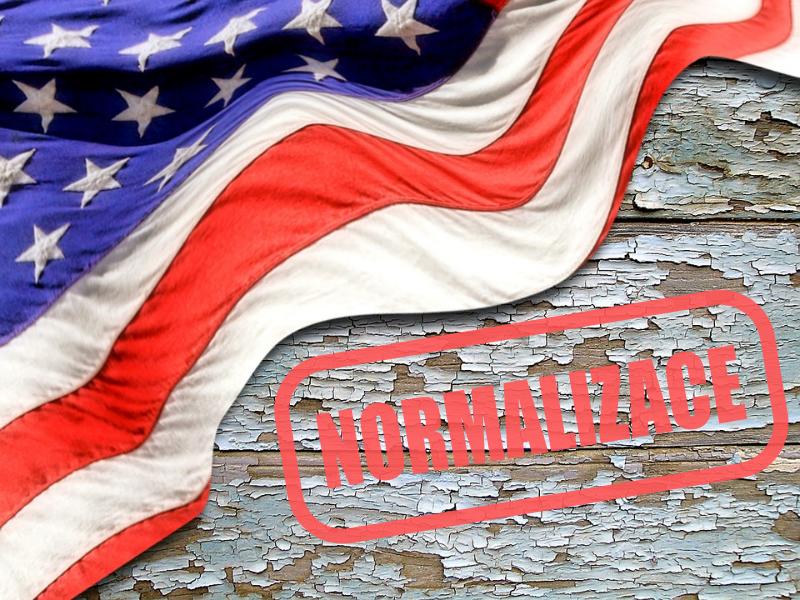 USA – varianta normalizace
